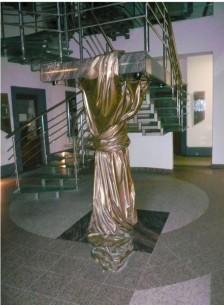 schodisko – drapéria