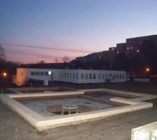 fontána na Bazovského