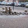 Fontána pred Centrálou VÚB v Bratislave
