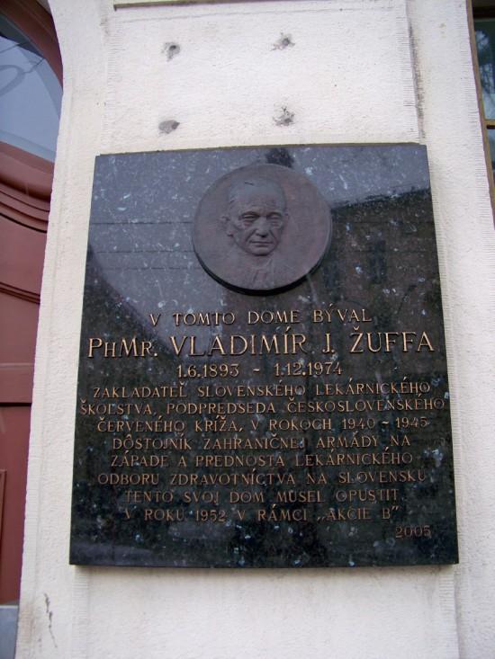 Vladimír J. Žuffa (1893 – 1974)