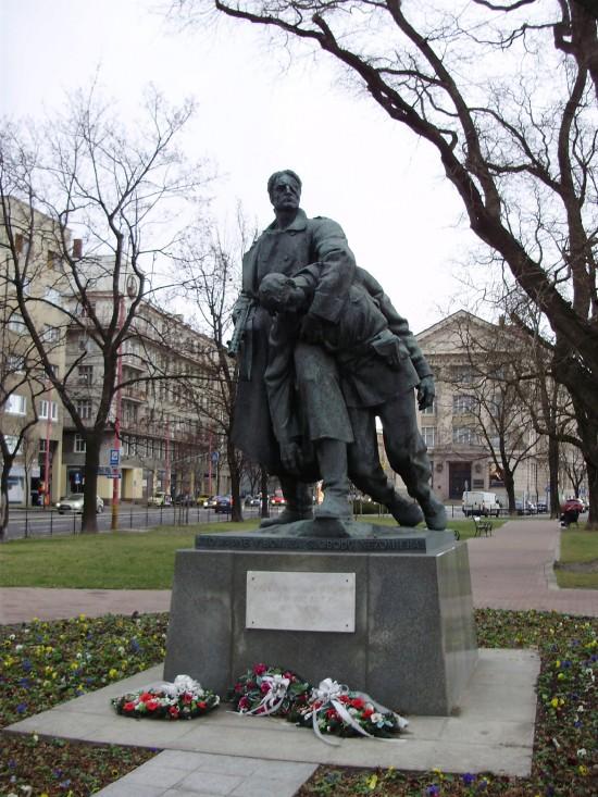 Pomník bulharských partizánov
