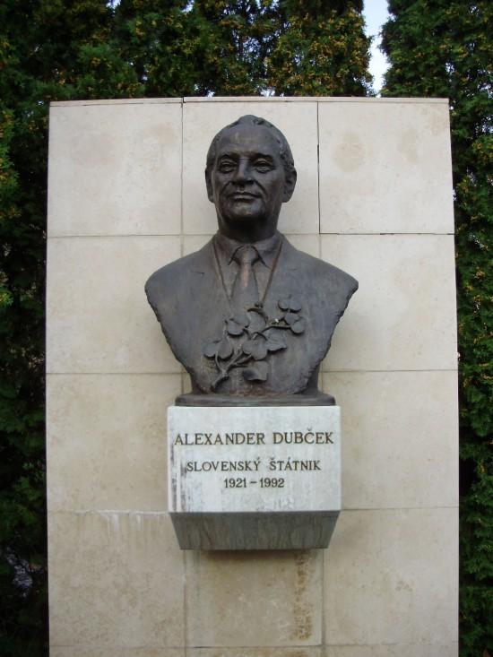 busta Alexandra Dubčeka